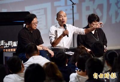 韓國瑜問台下「我傻嗎」? 林濁水列「不傻事蹟」反酸