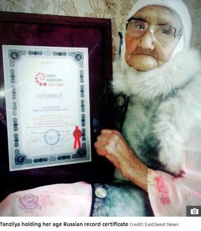 挑戰金氏紀錄!號稱嵩壽123歲 「俄國最長壽」婆婆過世