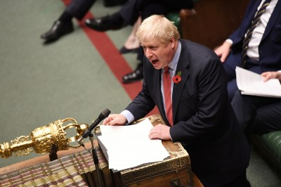 英國下院438:20壓倒性通過 提前12月舉行大選