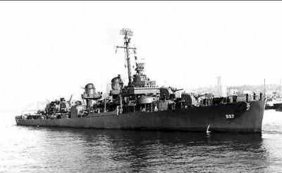 薩馬島海戰勇鬥日軍大艦隊 美驅逐艦「約翰斯頓號」疑現蹤