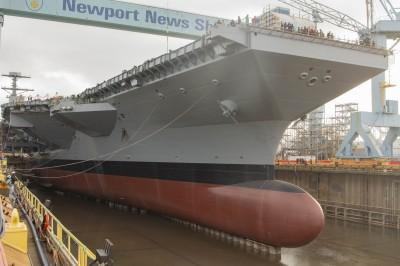 軍武新知》一回生二回熟 美「甘迺迪號」航艦提前下水