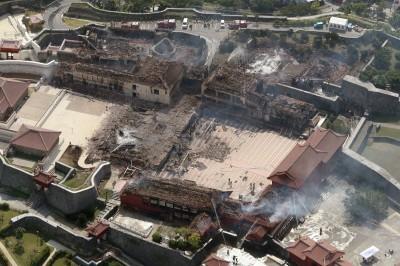 首里城大火延燒11小時 日本專家點出「2大主因」