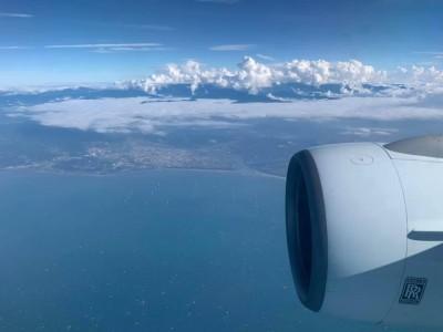 搭機鳥瞰台灣首座離岸風場 氣象達人讚:未來會很壯觀