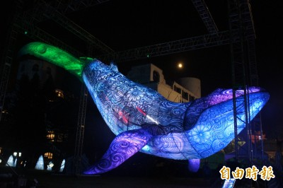 澎湖國際海灣燈光節落幕 「奇幻樹」元宵持續發光發熱