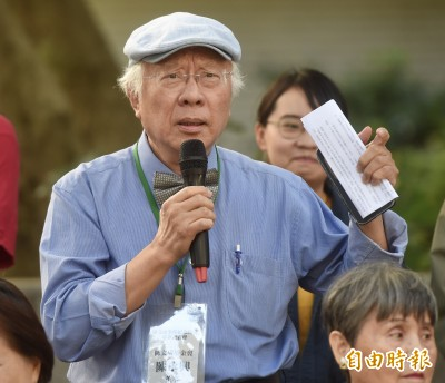 募款建置陳文成廣場 陳永興嗆管中閔:稿費兼差就可支付600萬