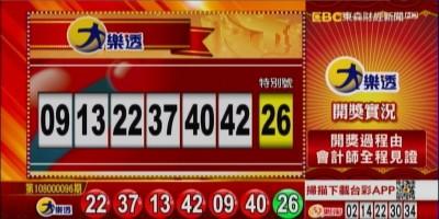 11/5 大樂透、雙贏彩、今彩539 開獎囉!
