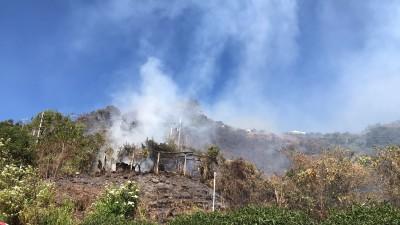 仁愛鄉都達部落森林火警 火勢一度逼近清境農場