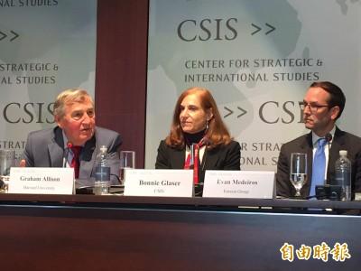 美國智庫學者分析反送中 葛來儀:北京對台恐更強硬