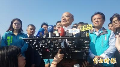 庶民破滅》韓國瑜質疑國家機器介入 蘇貞昌:不必疑神疑鬼
