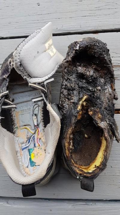 兒童超愛穿!民宅起火兇手竟是「發光鞋」 弄濕電池易短路