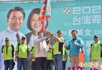 仁德競選總部授旗成立 王定宇:守護民主聖地的第一線