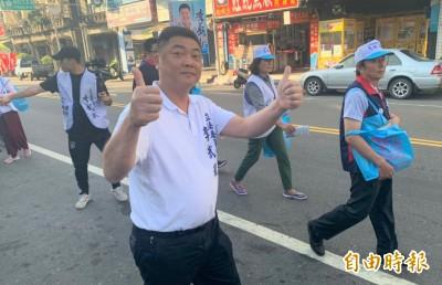 國民黨李武龍回防 台南麻豆二天掃街