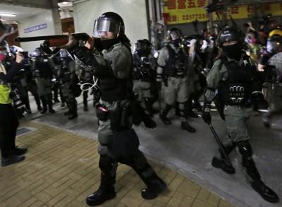 港警濫暴「儼如土匪」 225入境事務隊員發聲明籲整肅警隊