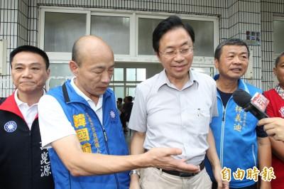 張善政搶先宣布成韓國瑜副手 陳芳明4個字酸爆他