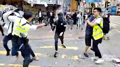 震驚全球!港警近距離射殺平民 王丹呼籲狀告聯合國