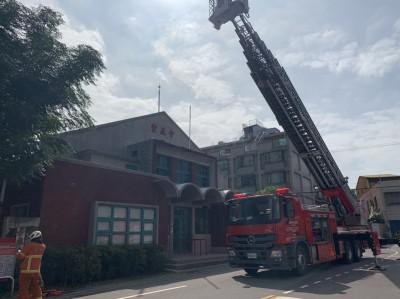 聖母院、首里城大火警惕  桃消防局對歷史建物搶救演練