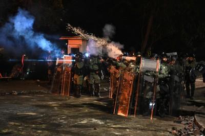 民進黨譴責港警暴行 籲國際聲援香港
