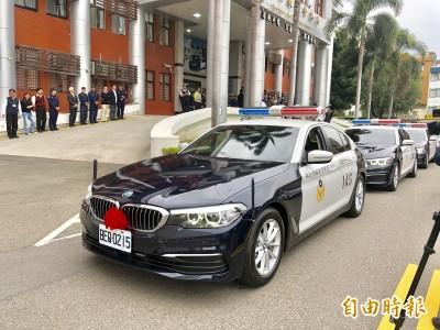 桃市警局換購BMW警車 0至100公里加速僅需6.1秒