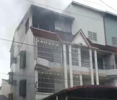 屏東內埔鄉清晨住宅火警 三代4人無生命跡象