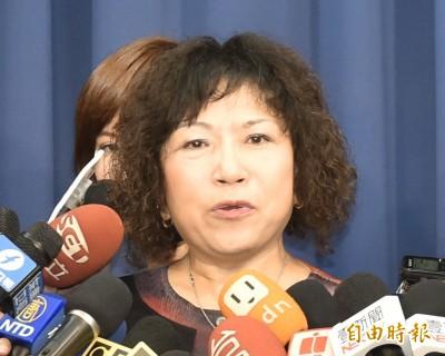 被問支持統一?葉毓蘭:我支持中華民國,誰控染紅就要告