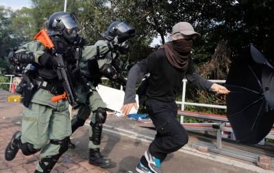 港警濫用槍射殺示威者 國民黨團:難認同以暴制暴