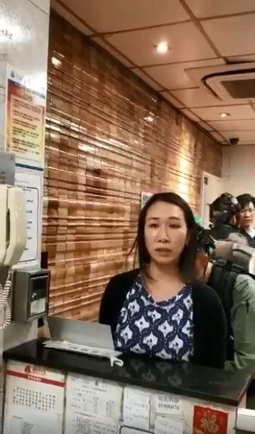 港警強行逮人 女示威者對鏡頭報姓名住址:我性格樂觀、不會自殺