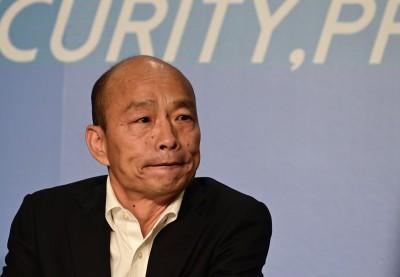 當選是否跟對岸簽和平協議 韓國瑜「目前為止,不會!」