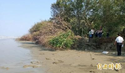 驚!台南北門雙春海岸侵蝕嚴重 又倒退100米
