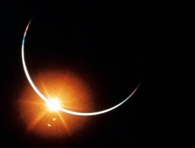 太空視角!阿波羅12號登月50周年 NASA珍貴日蝕照曝光
