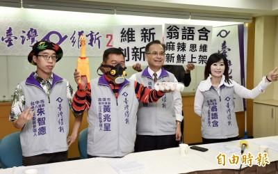 台灣維新再推3參選人 提「立委收入減半」政策
