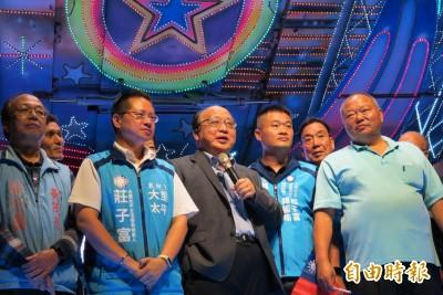 談國民黨不分區名單 胡志強:不要逼我罵人