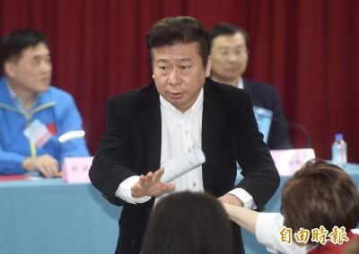 吳敦義將補提1人 國民黨不分區仍足額提名34席