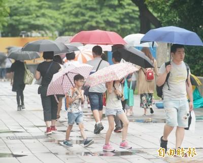 週日溫暖舒適! 東半部有局部陣雨