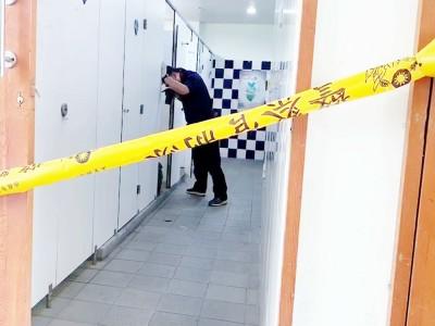 台東轉運站疑街友猝死公廁