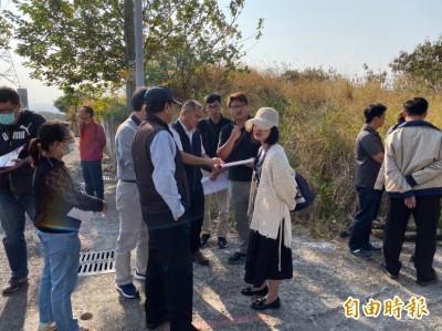 議長張清照爭取鰲峰山公園增設停車場 最快年底發包