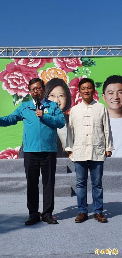 蔡賴配》鄭文燦︰最佳組合必定打贏總統、立委選舉