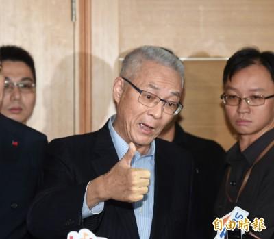 謝龍介不滿不分區排第15 吳敦義以「僧多粥少」回應...