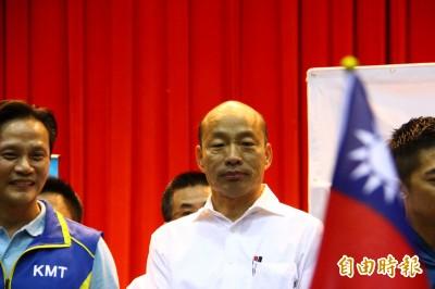 不分區名單惹議 韓國瑜坦言「距離民意有長遠落差」