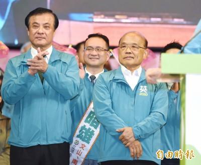 蘇貞昌病毒感染 政院:顏面神經暫時麻痺