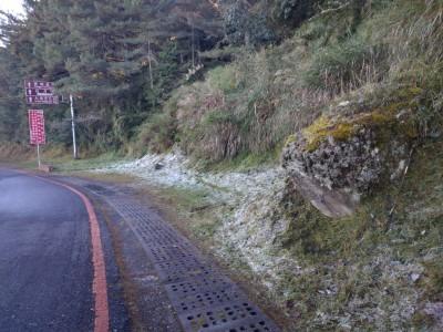 玉山入冬首見冰霜 氣象局:顯示冷空氣強度夠強