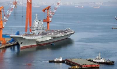 軍情動態》中國002型自製航艦出沒!海事公告竟鎖台灣IP
