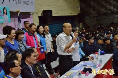 韓國瑜:年輕人的前途只有「悲慘」