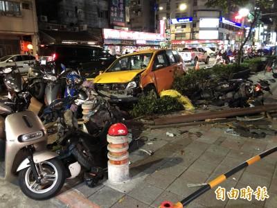 她計程車煞車失靈 吉林國小游泳教練被撞命危