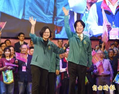 藍營眼紅批「蔡賴配」 管碧玲:民進黨團結是國民黨的痛