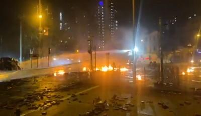 香港警方連夜進逼理大鎮壓 校友急籲港府住手
