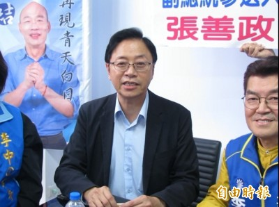 朱立倫將接全國競總主委 張善政:因為韓國瑜愈來愈有總統的樣子