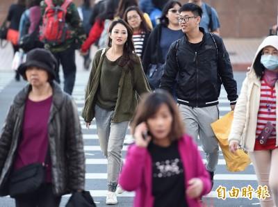 中部以北低溫僅16度 北台灣4縣市大雨特報!