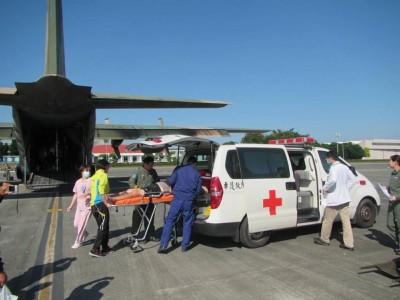 狂飆3千公里跨海救援!空軍C130運輸機載太平島病患返台醫治