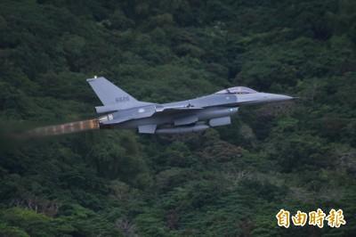 台海軍情》共軍航艦甫穿台海 我F-16今晨升空「聯翔操演」