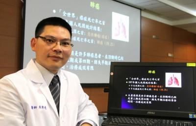 肺癌居癌症死亡率之首 醫師:不菸者要防肺腺癌